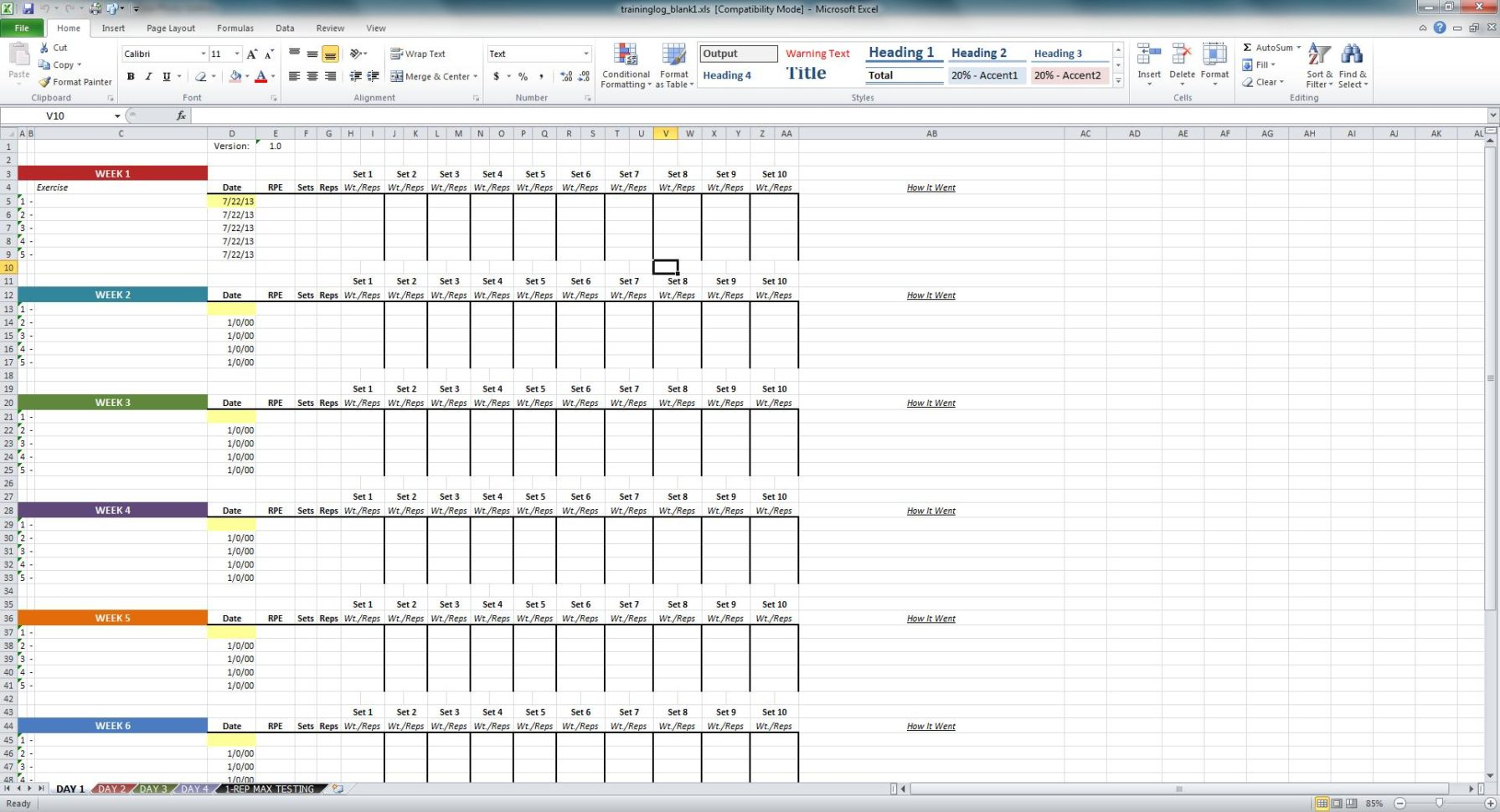 Excel Training Matrix Examples Spreadsheets Training Spreadsheet Template Spreadsheet Templates