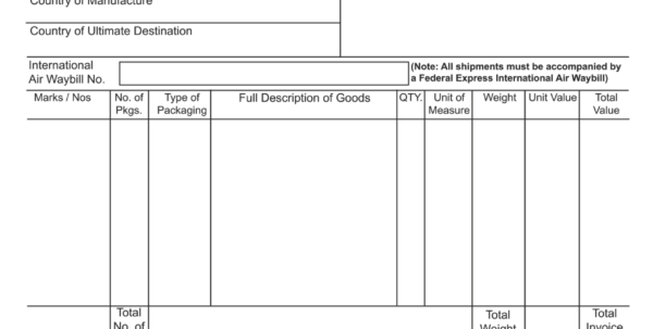 Fedex Invoice Payment