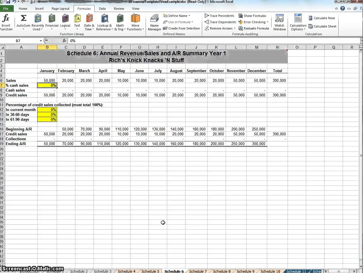business plan financial template spreadsheet templates for
