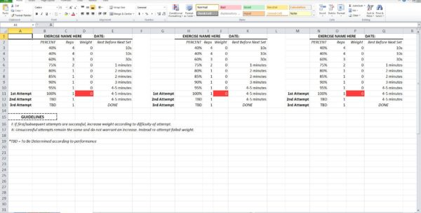 Free Annual Leave Spreadsheet Excel Template