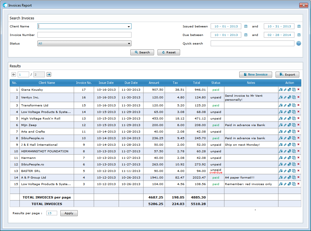 Free Billing Invoice Software