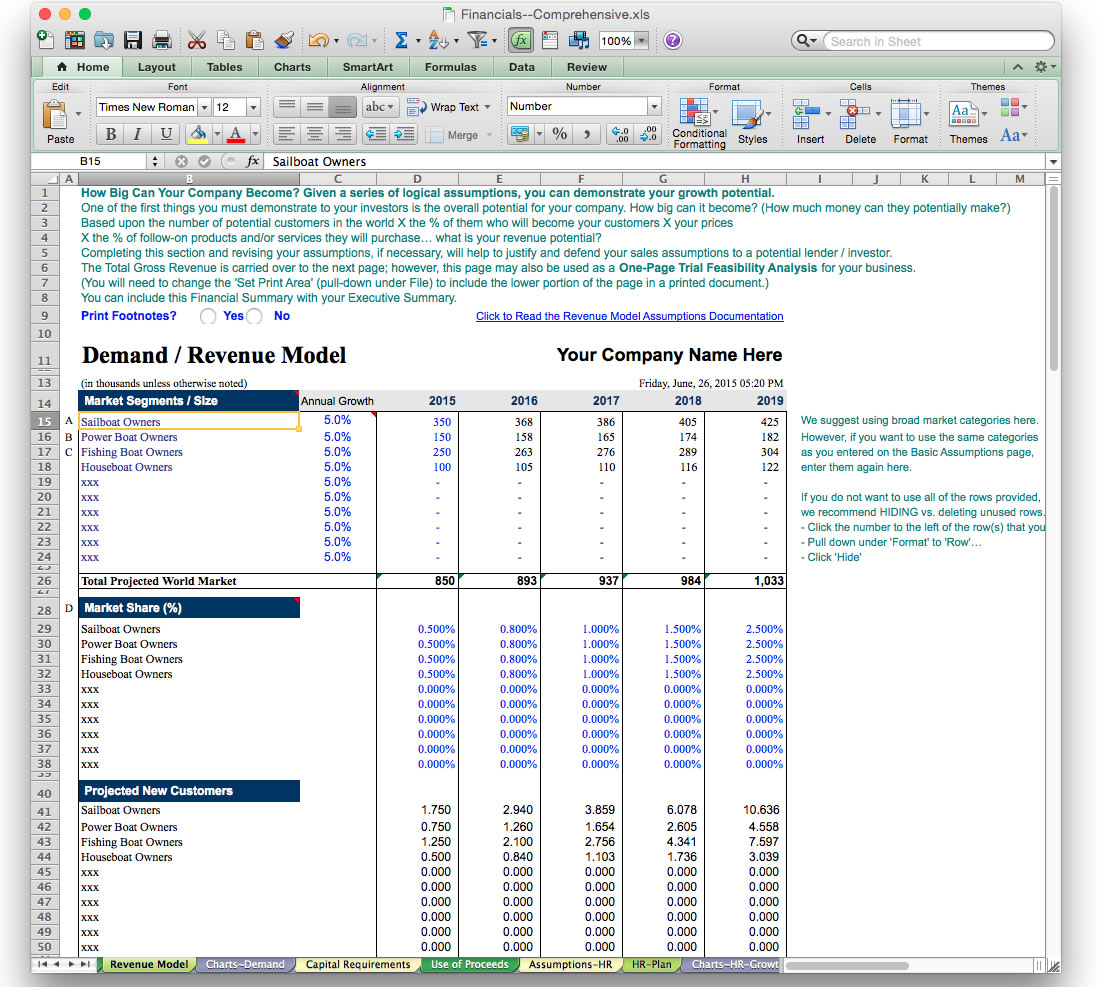 Score business plan template free spreadsheet templates for Score financial templates