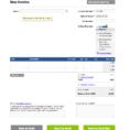 Free Quickbooks Invoice Template