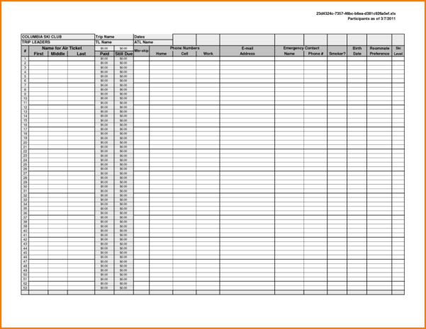 spreadsheet template page 15 business spreadsheet template
