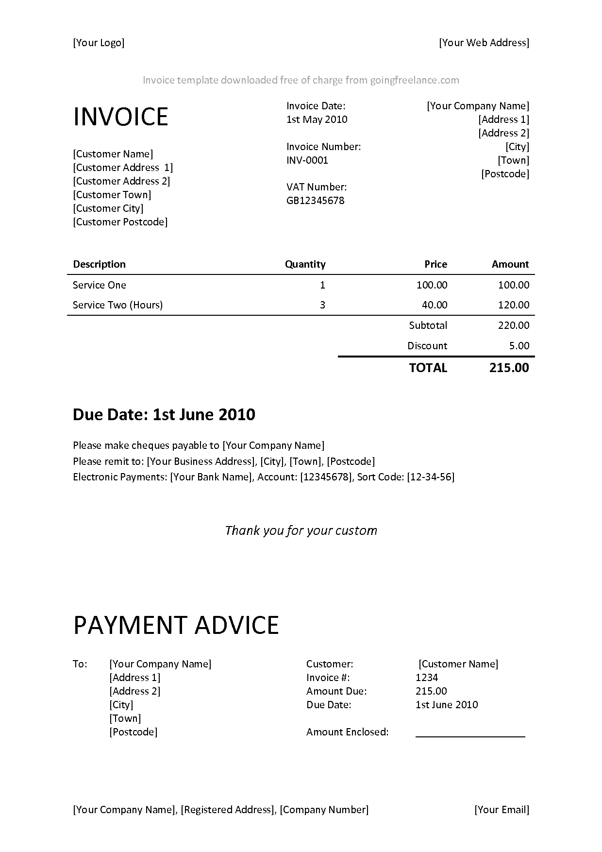 Hvac Invoice Software
