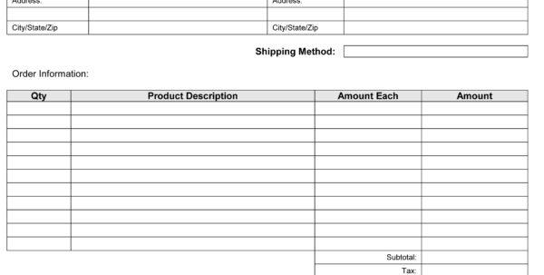 Invoice Billing
