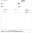 Invoice Te Open Office Invoice Templates