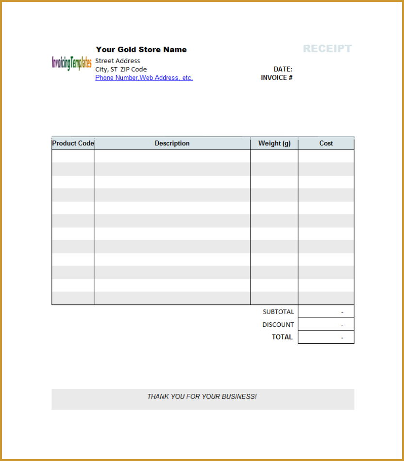 Invoice Template Microsoft Works