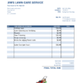 Lawn Care Invoice Template Pdf Lawn Care Invoice Template Spreadsheet Templates for Busines Spreadsheet Templates for Busines Free Lawn Care Invoice Template