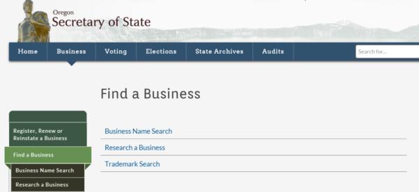 Louisiana Corporation Search