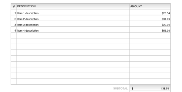 Microsoft Excel Estimate Template Microsoft Excel Invoice Template Microsoft Spreadsheet Template, Excel Spreadsheet Templates, Spreadsheet Templates for Business