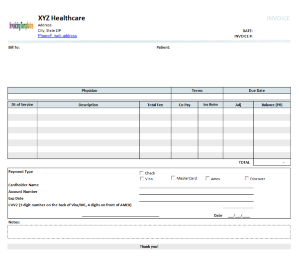 Open Office Invoice Template Download