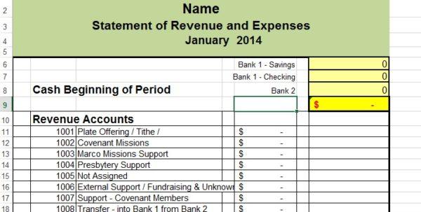 Record Keeping Spreadsheet Templates
