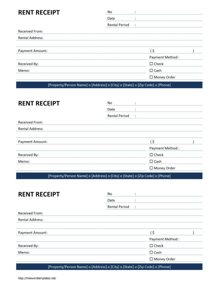 Rental Invoice Form