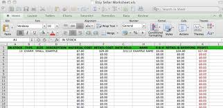 Small Business Accounting Spreadsheet 1