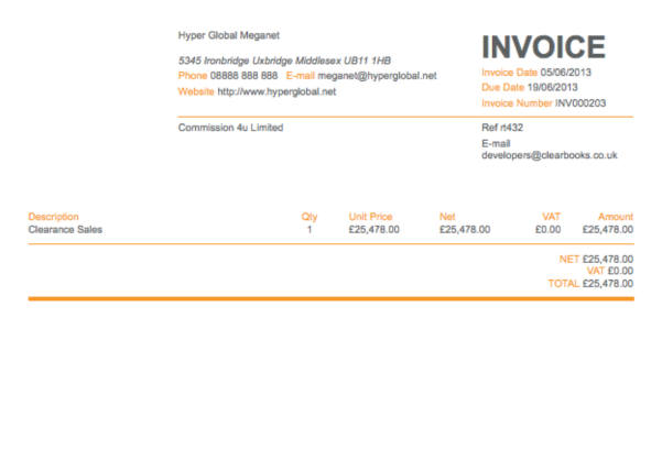 Trucking Invoice Software
