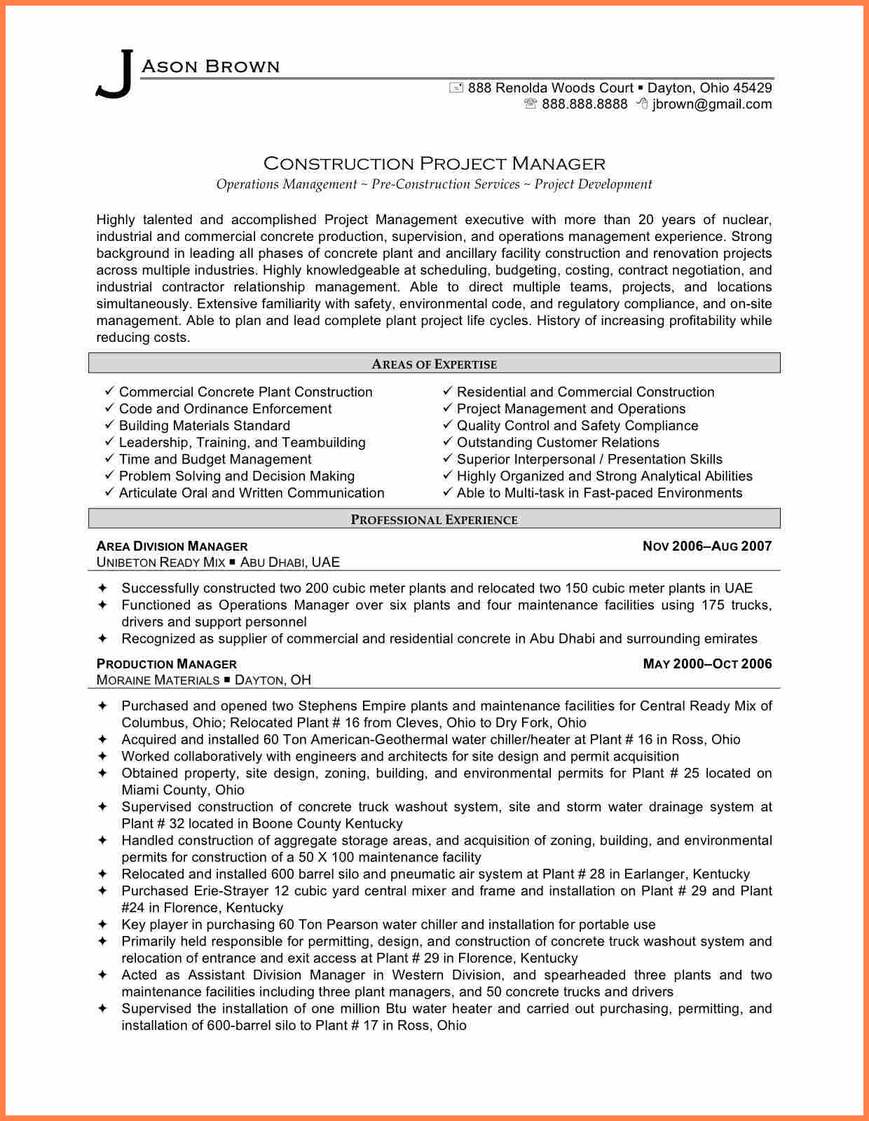 10  Construction Project Management Agreement Template | Purchase For Project Management Contracts Templates