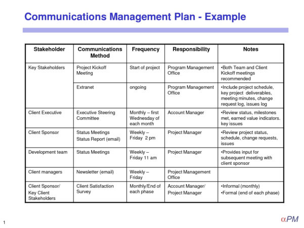 10  Crisis Management Plan Examples   Pdf In Project Management Plan Templates
