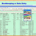 10  Excel Bookkeeping Templates Free Download | Lbl Home Defense With Home Bookkeeping Excel Template