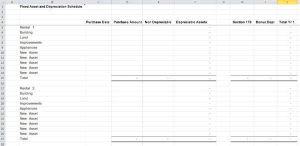 10 Residential Rental Tracking Spreadsheet – Organized Bookkeeping Inside Rental Bookkeeping Spreadsheet