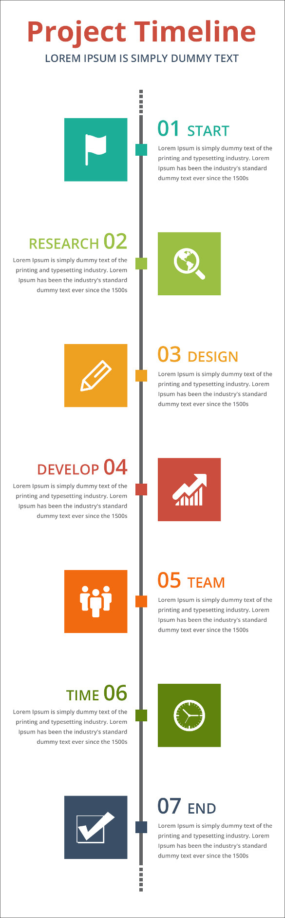 11  Project Timeline Templates | Free & Premium Templates Inside Project Management Design Templates