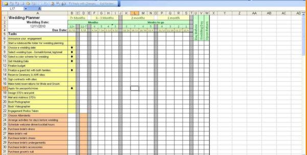 11  Wedding Planner Spreadsheet | Shawn Weatherly With Wedding Planning Spreadsheet Template Wedding Planning Spreadsheet Template Excel Spreadsheet Templates