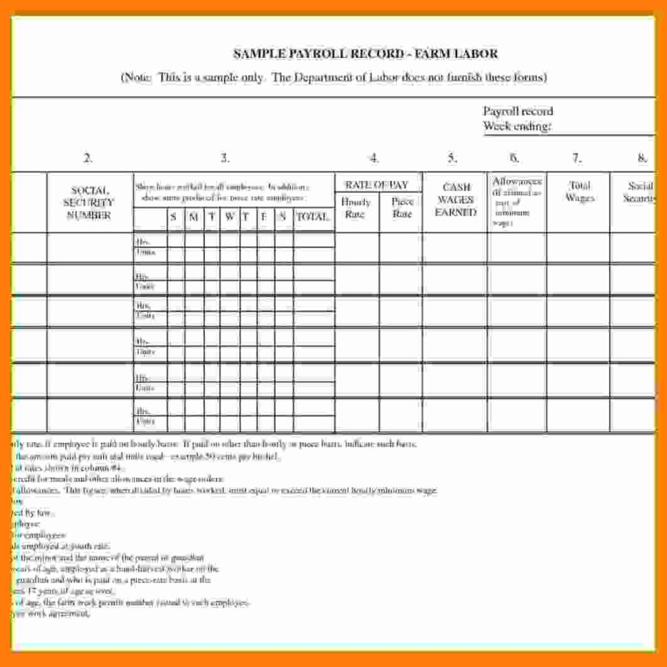 12  Payroll Spreadsheet Sample | Balance Spreadsheet And Payroll Spreadsheet Template Free