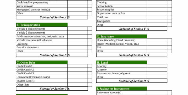 13 Inspirational Monthly Bills Spreadsheet Template Excel   Twables.site In Monthly Bill Spreadsheet Template