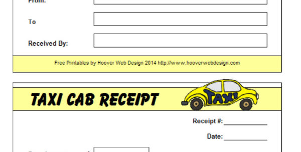 16  Free Taxi Receipt Templates   Make Your Taxi Receipts Easily Inside Taxi Bookkeeping Template