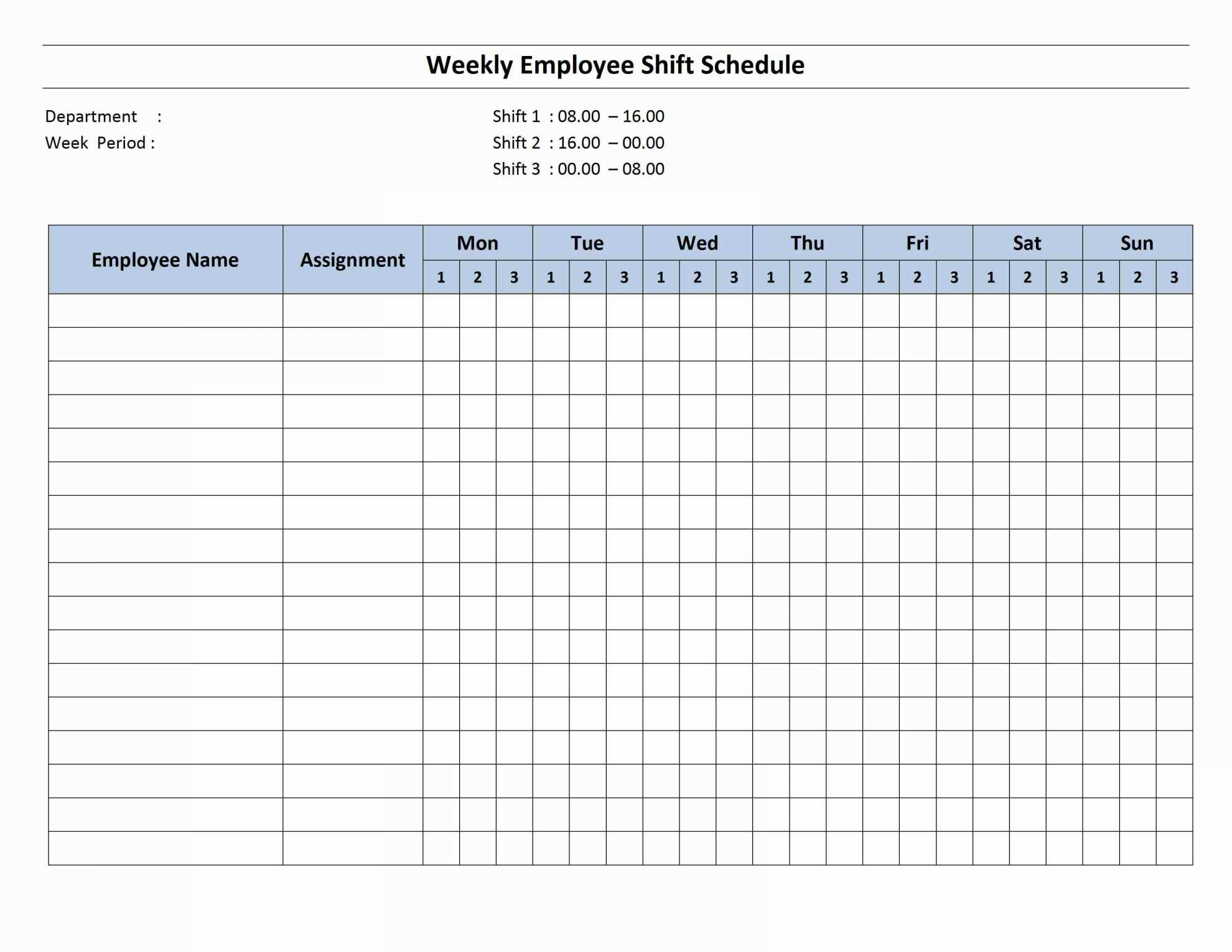20+ Awesome Monthly Work Schedule Template Excel - Lancerules Intended For Monthly Work Plan Template Excel