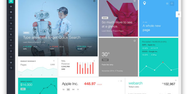 25 Best Bootstrap 4 Admin Templates For Web Apps 2018   Colorlib For Project Management Website Templates