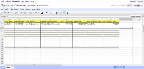 3 Ways To Create A Follow Up System For Real Estate Seller Leads For Throughout Sales Lead Template Forms