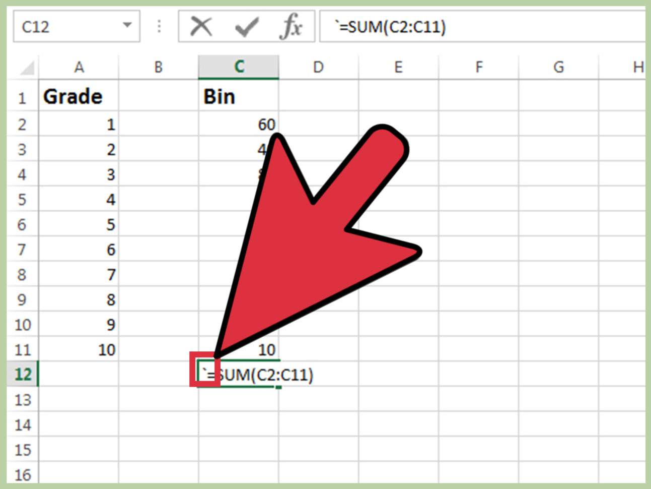 3 Ways To Print Cell Formulas Used On An Excel Spreadsheet In How To Set Up An Excel Spreadsheet