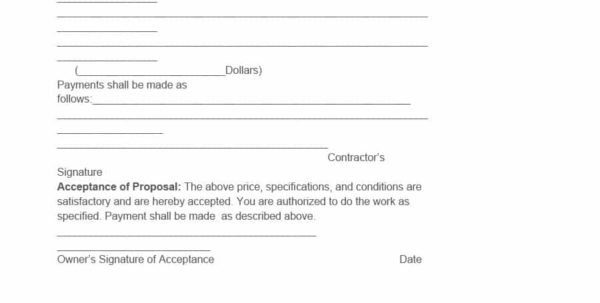 31 Construction Proposal Template & Construction Bid Forms With Construction Estimate Proposal Template
