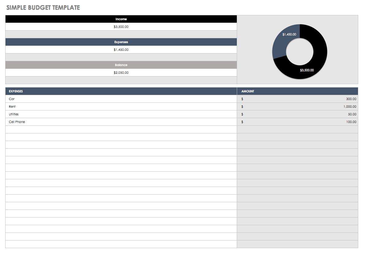 32 Free Excel Spreadsheet Templates | Smartsheet In Excel Database Template Download