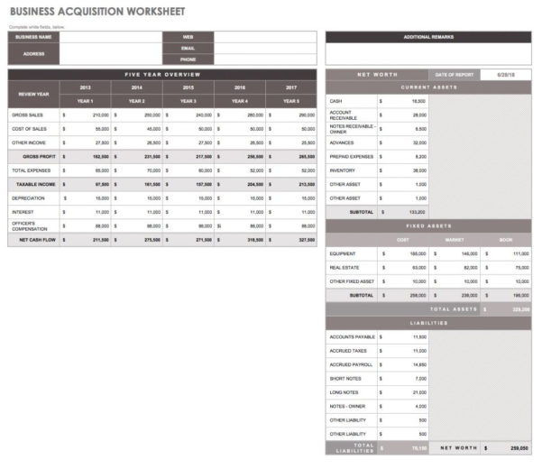 32 Free Excel Spreadsheet Templates | Smartsheet With Accounting Templates Excel Worksheets