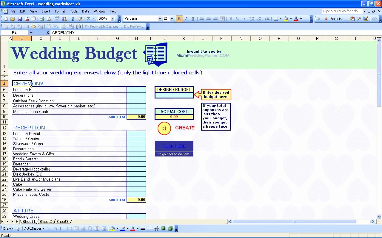 35 Awesome Wedding Budget Spreadsheet Excel Uk | Wedding Budget For Wedding Budget Spreadsheet