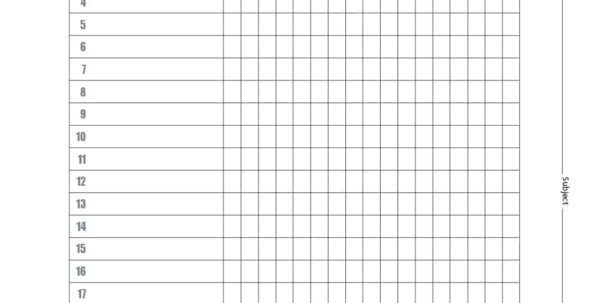 37 Class Roster Templates [Student Roster Templates For Teachers] With Teacher Printable Templates