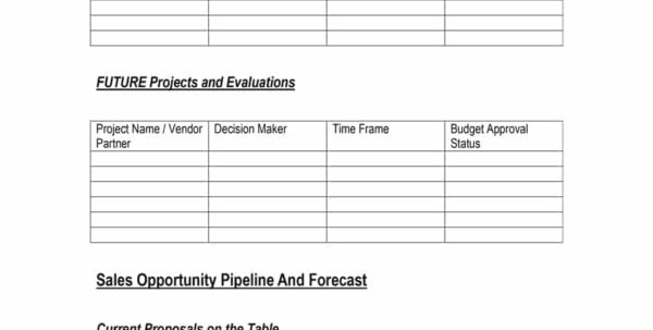 39 Sales Forecast Templates & Spreadsheets   Template Archive Within Sales Forecast Template For Services