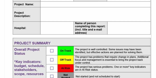 40  Project Status Report Templates [Word, Excel, Ppt]   Template Lab With Project Management Reporting Templates
