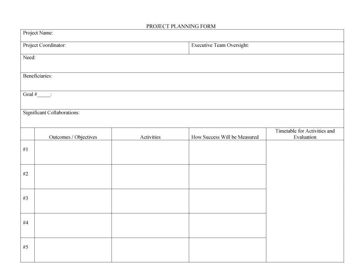 48 Professional Project Plan Templates [Excel, Word, Pdf] - Template Lab And Project Management Templates Free Download