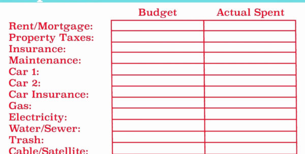 50 Awesome Bill Payment Spreadsheet Excel Templates   Document Ideas To Monthly Balance Sheet Template Excel