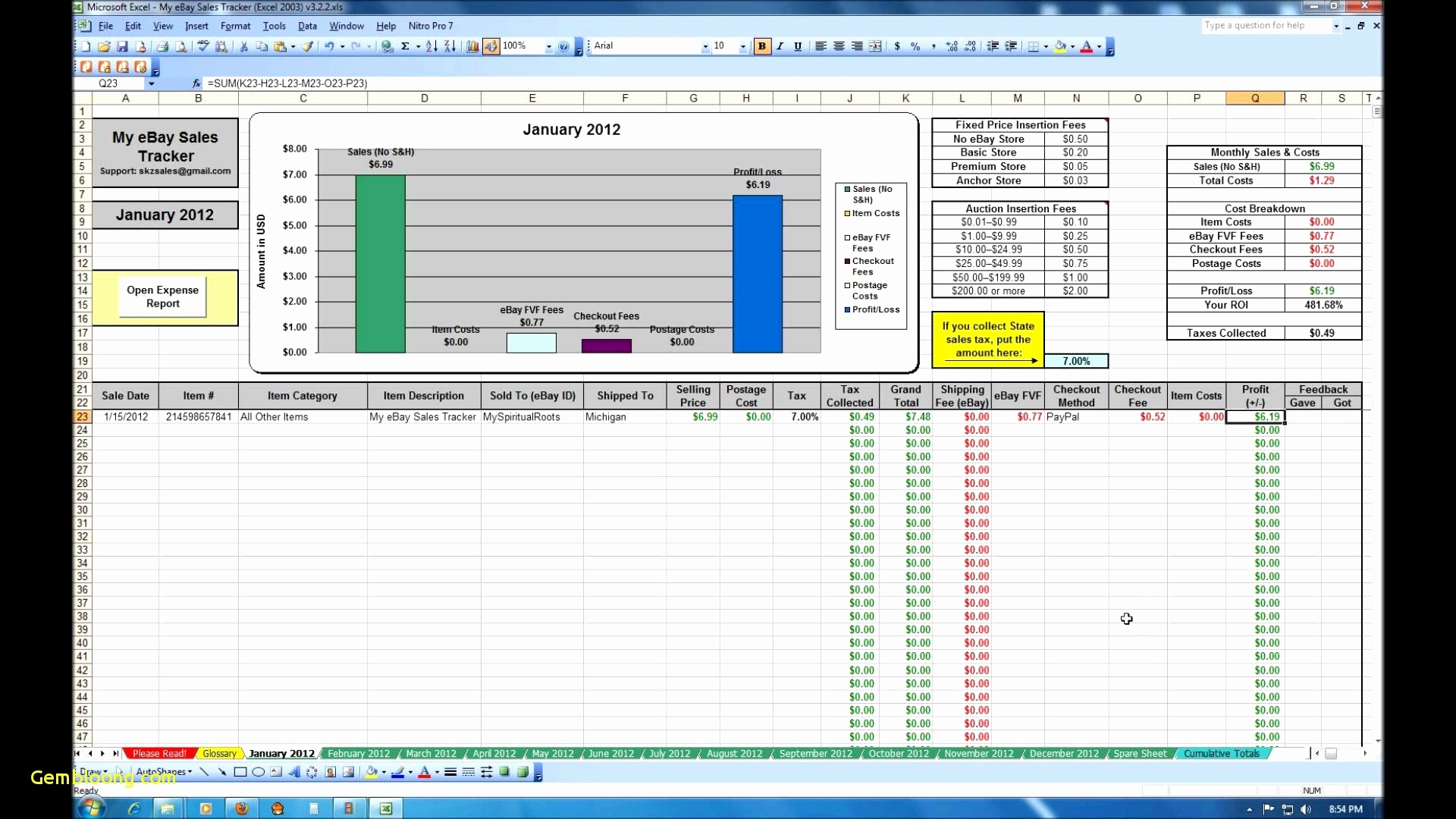 50 Lovely Inventory Management In Excel Free Download   Documents For Stock Management Excel Sheet Download