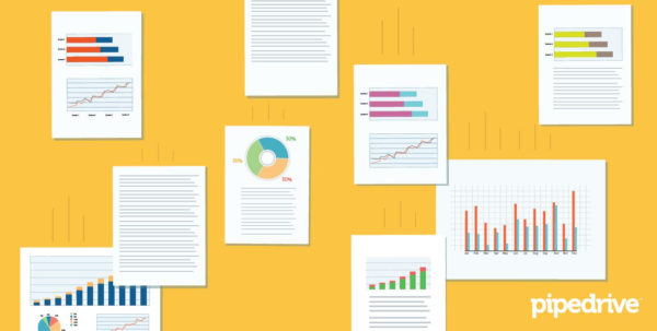 7 Free Sales Dashboards And Templates For Your Team | Pipedrive Throughout Free Excel Dashboard Templates