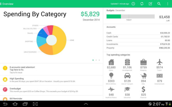 8 Of The Best Budget Apps For Ipad | Gadget Review Inside Personal Budget Finance
