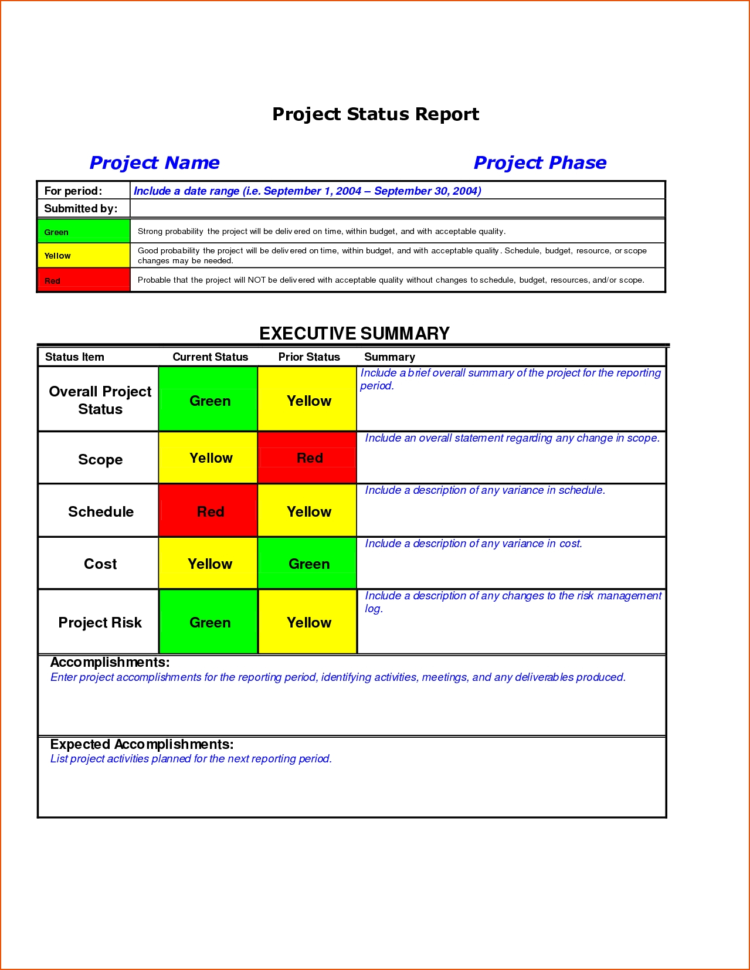 8 Project Status Template Bookletemplate With Project Management Inside Project Management Templates In Word