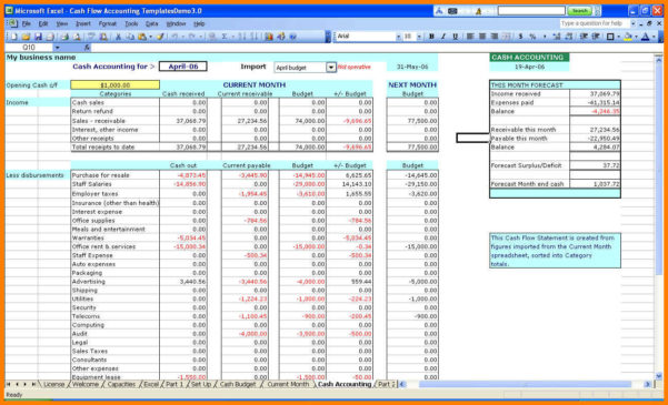 9  Excel Spreadsheet For Accounting Templates | Gospel Connoisseur Inside Excel Accounting Templates