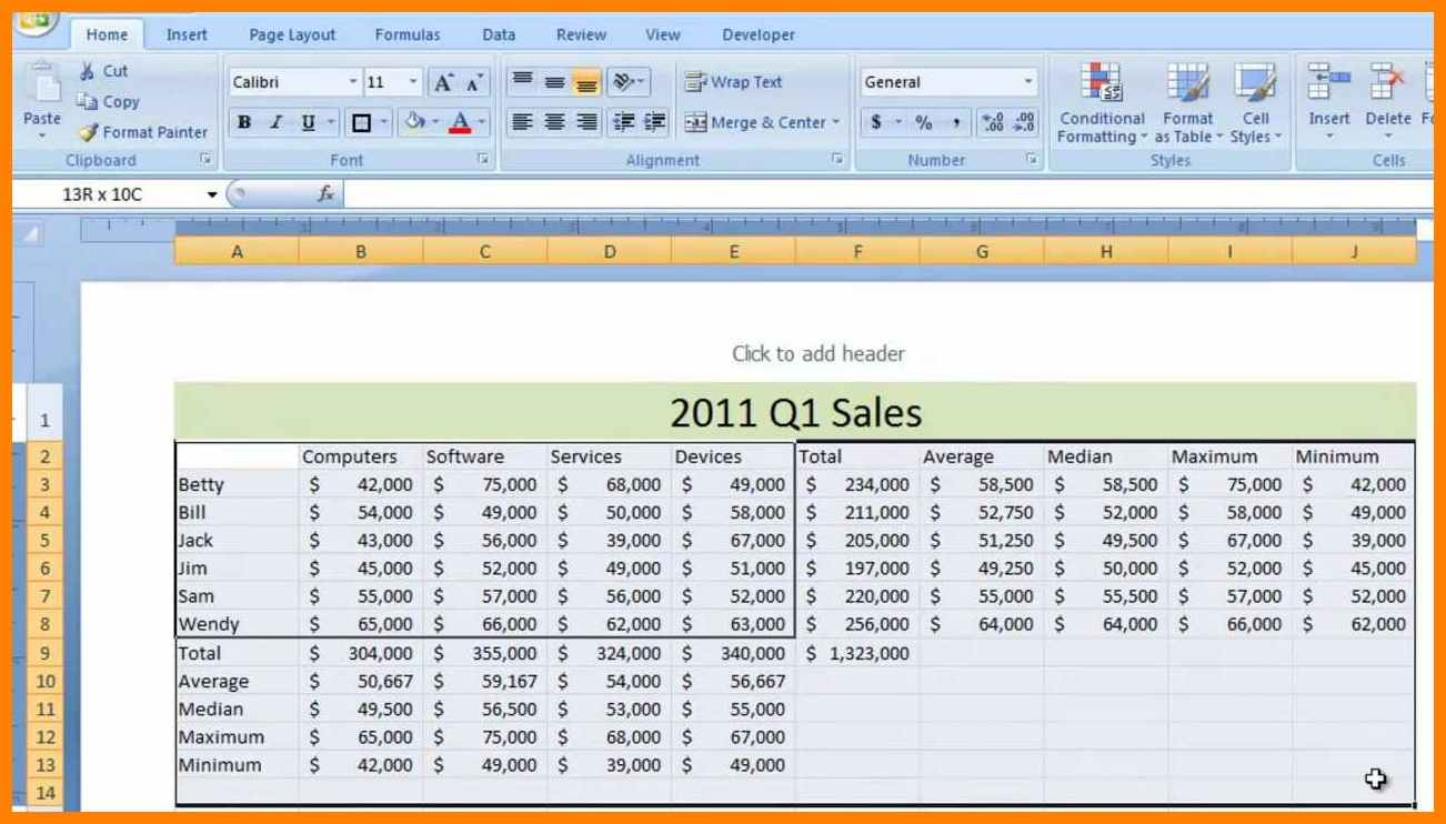 9  Sample Excel Spreadsheet | Credit Spreadsheet To Sample Excel Spreadsheet