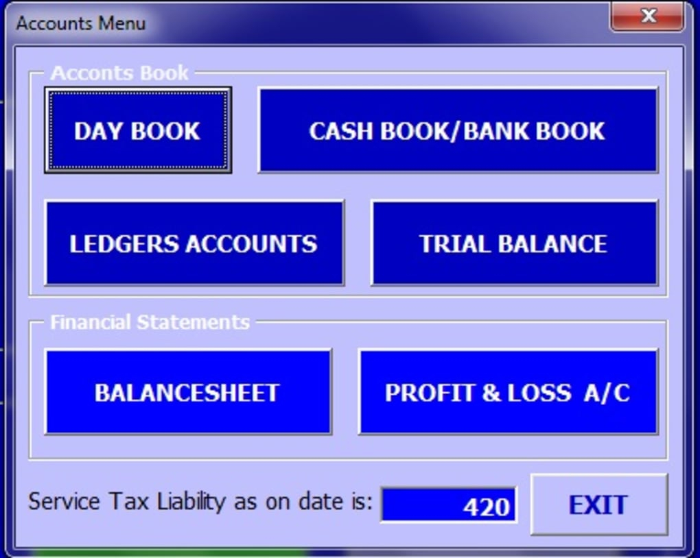Abcaus Excel Accounting Template   Download Throughout Double Entry Bookkeeping Excel