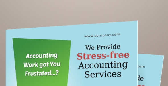 Accounting And Bookkeeping Services Flyers On Behance Inside Bookkeeping Flyer Template Free